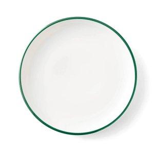 画像1: 【LIGNE リーニュ】28cm大皿 緑
