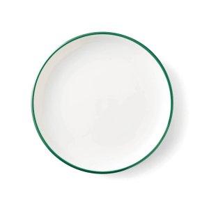 画像1: 【LIGNE リーニュ】17cm中皿 緑