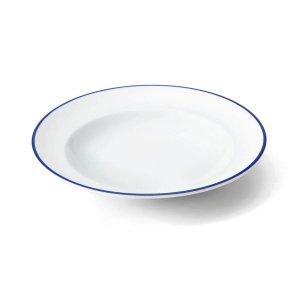 画像1: 【LIGNE リーニュ】24cmスープ皿 青