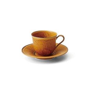 画像1: 【FORET フォレ】コーヒーカップ 茶