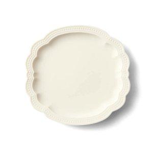 画像1: 【PATISSERIE パティスリー】ケーキプレート 白