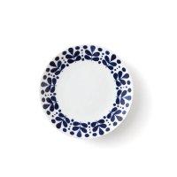 【NAVY BLUE ネイビーブルー】15cmプレート リーフ