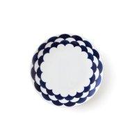 【NAVY BLUE ネイビーブルー】15cmプレート ウェーブ