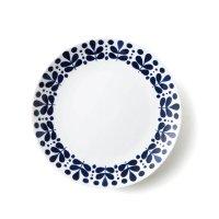 【NAVY BLUE ネイビーブルー】23cmプレート リーフ