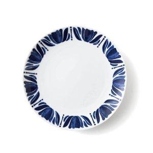 画像1: 【NAVY BLUE ネイビーブルー】23cmプレート チューリップ