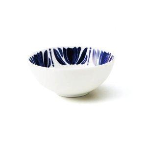 画像1: 【NAVY BLUE ネイビーブルー】12cmボウル チューリップ