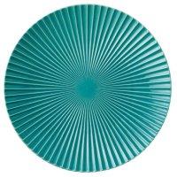 【ROSETTE ロゼット】28.5cmプレート ターコイズブルー
